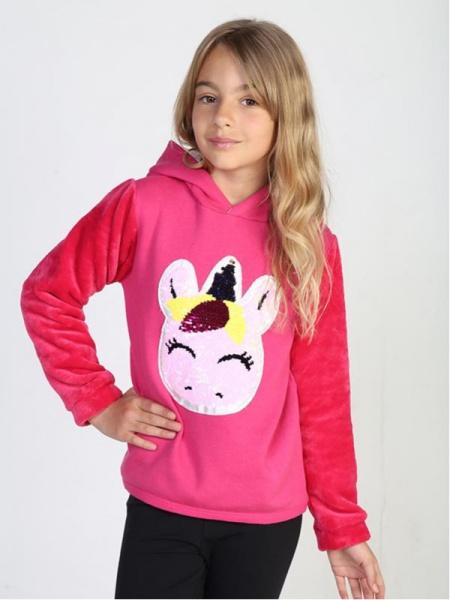 buzo manga plush unicornio niña urbanito invierno 2019