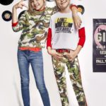 calza y buzo camuflada niñas Kosiuko kids invierno 2019