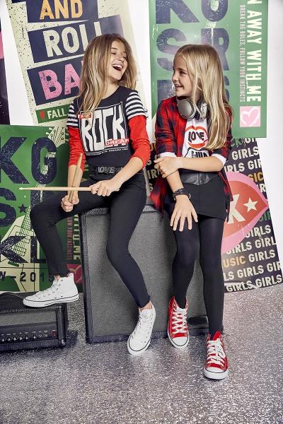 calzas engomadas para niñas Kosiuko kids invierno 2019