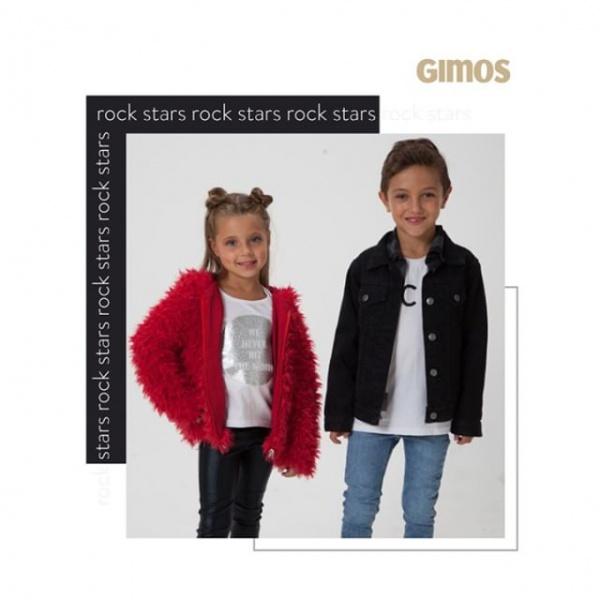 campera jeans negra niño gimos invierno 2019