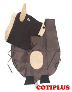 disfraz de caballo facil para niños
