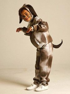 disfraz de perro facil para niños