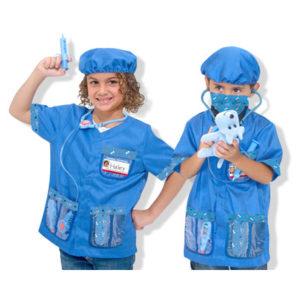 disfraz de veterinaria niña dia del trabajo