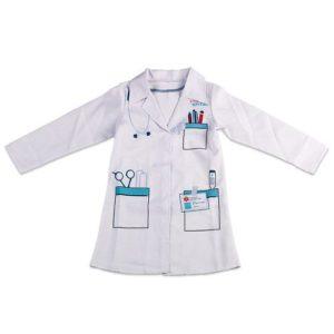 disfraz doctor dia del trabajo niño