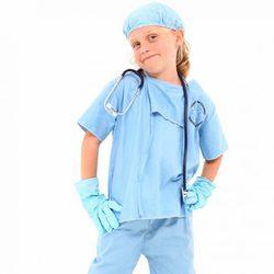 disfraz niña enfermera dia del trabajo