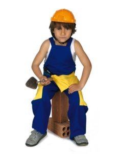 disfraz niño abañil dia del trabajo