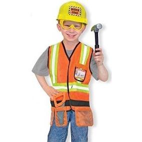 disfraz obrero constructor niño dia del trabajo