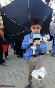 disfraz original reportero periodista dia del trabajo