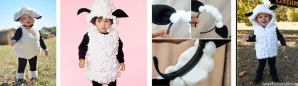 disfraz oveja niños