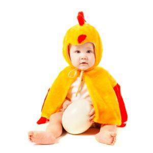 disfraz pollito bebe