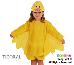 disfraz pollito niña