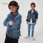 look canchero niño con campera jeans gimos invierno 2019