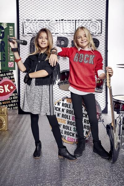 look rockero niñas Kosiuko kids invierno 2019