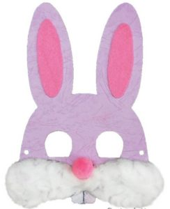 mascara de conejo facil