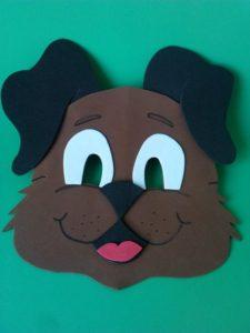 mascara goma eva facil para niños