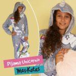 pijamas para niñas de unicornio mas kotas invierno 2019