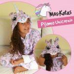 pijamas para niñas peluche unicornio mas kotas invierno 2019