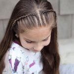 10 Peinados semirecogidos con trenzas para niñas