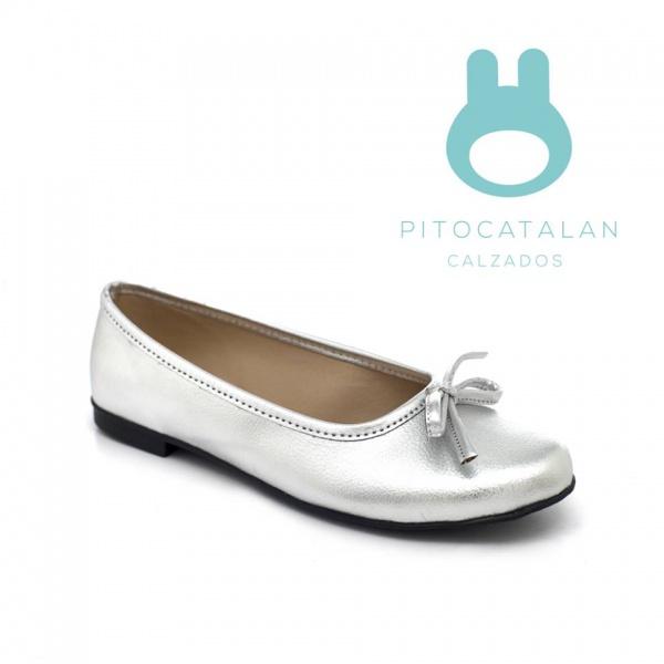 zapato plateado niña Pitocatalan invierno 2019