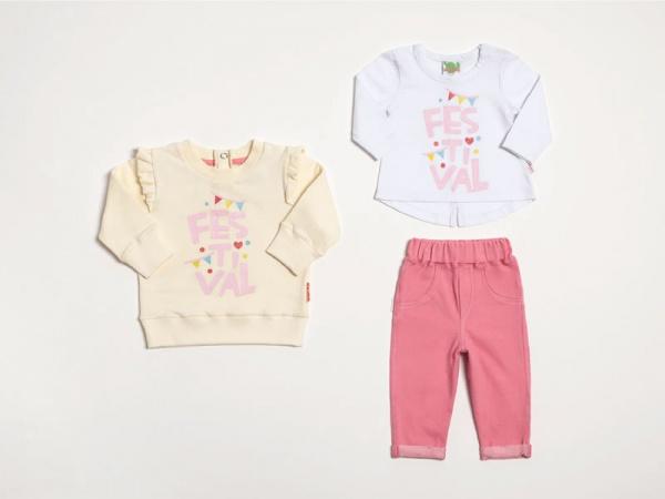 Look-beba-pantalon-remera-mangas-largas-y-buzo-con-volado-Owoko-invierno-2019