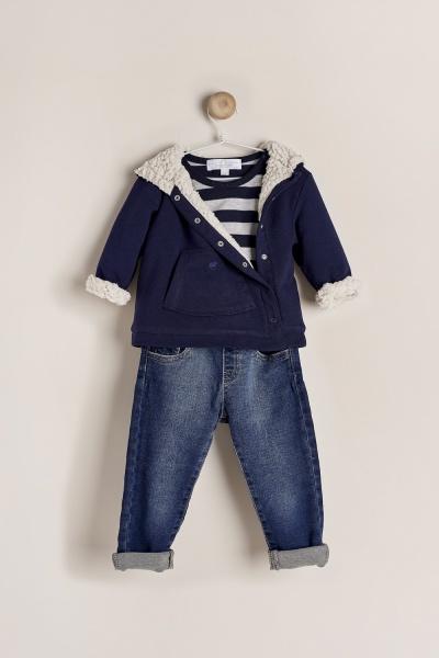 campera-algodon-corderito-jeans-para-bebe-Baby-Cottons-invierno-2019