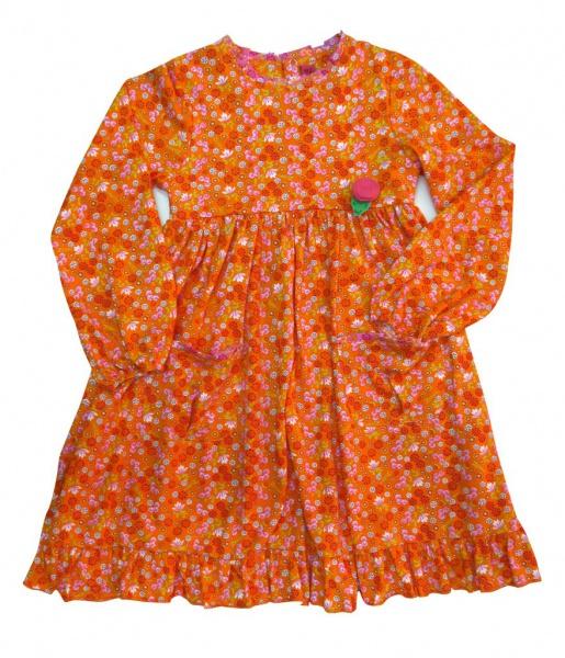 vestido-mangas-largas-naranja-para-niñas-zuppa-invierno-2019
