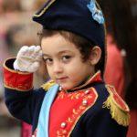 Disfraz de Belgrano y granaderos para el 20 junio - Dia de la bandera Argentina