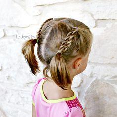 peinado-con-trenza-dos-colitas-pelo-corto