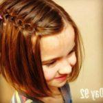 Peinados con trenzas para niñas con pelo corto