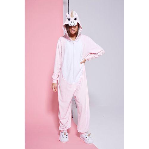 pijama-unicornio-con-capucha-niña-teens-Buddies-invierno-2019