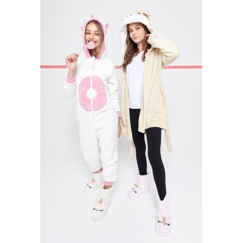 pijamas-con-capucha-para-niñas-teens-Buddies-invierno-2019