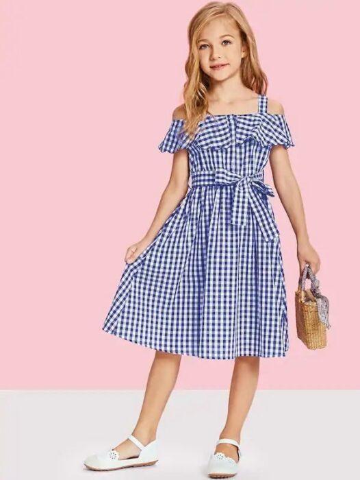 vestido-a-rayas-para-niñas-verano-2020