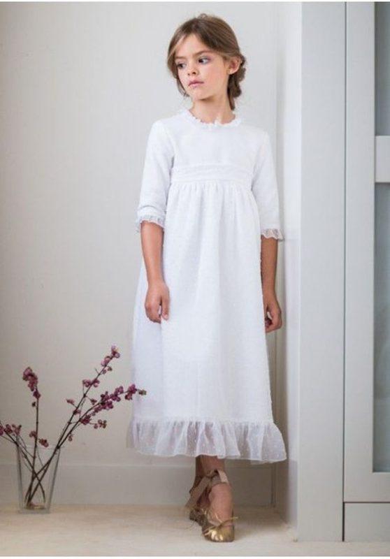 vestido-blanco-de-niña-con-mangas-para-comunion