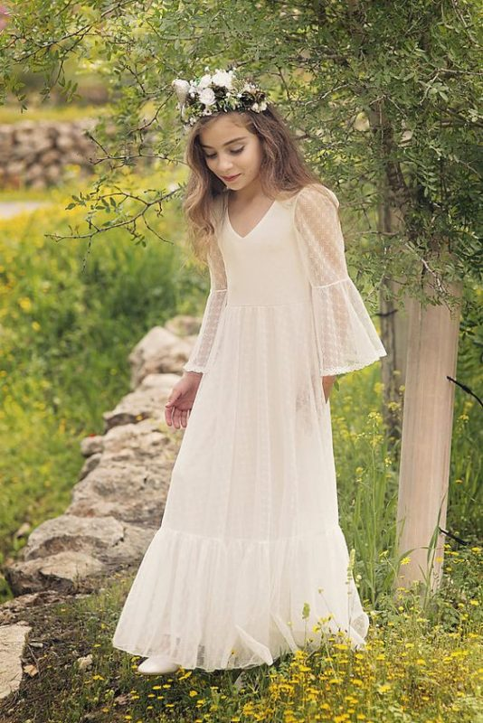 vestido-blanco-de-niña-estilo-tunica-voile-para-comunion