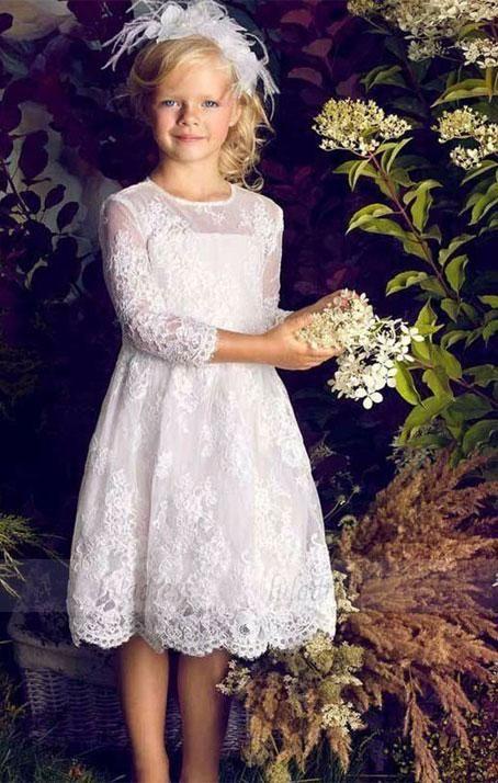 vestido-blanco-de-niña-para-comunion-de-encaje