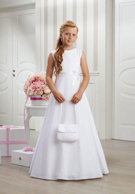 vestido-blanco-sencillo-de-niña-para-comunion-