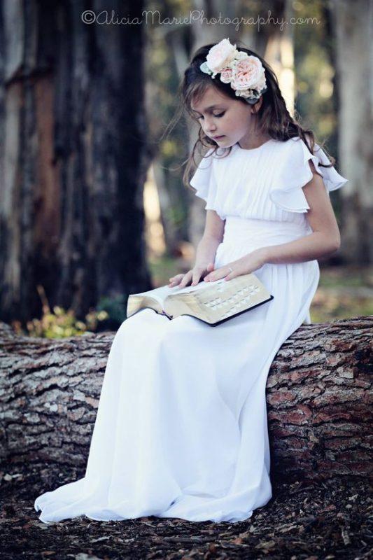 vestido-blanco-solero-de-niña-para-comunion