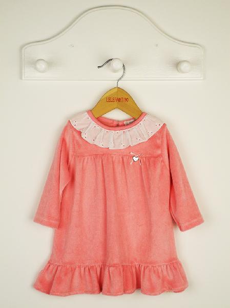 vestido-plush-beba-mangas-largas-rosa-con-puntilla-cuello-lelefantino-invierno-2019