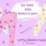 Little Manny - Calzas estampadas para niñas y bebas primavera verano 2020.