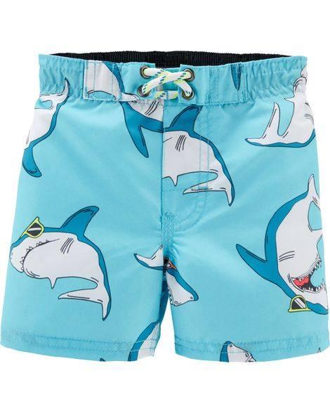 short-de-baño-tiburon-niño-verano-2020