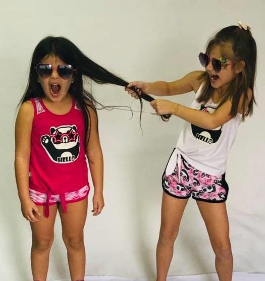 short-para-niñas-y-remeras-musculosa-estampa-panda-Dilo-tu-verano-2020