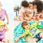 Traje de baño para niños y niñas - Ohskohs y Carter verano 2020