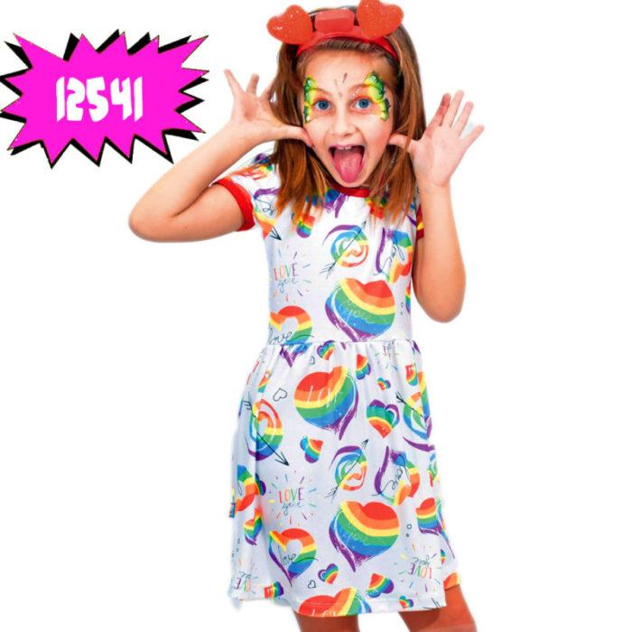 vestido-estampa-corazones-arco-iris-niña-dilo-tu-verano-2020
