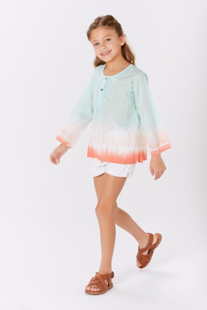 camisa-batik-niña-niñas-teens-Rapsodia-Girls-verano-2020