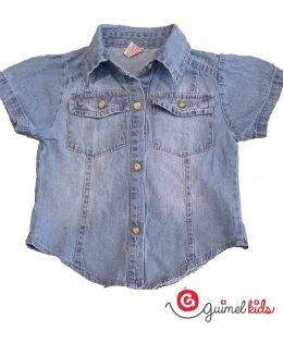 camisa-jeans-niñas-Guimel-verano-2020