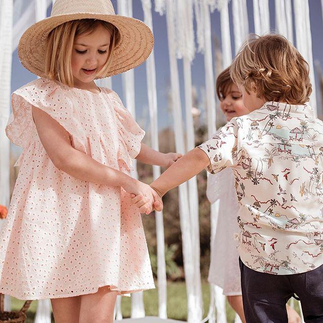 camisas-estampadas-para-niños-Pioppa-verano-2020