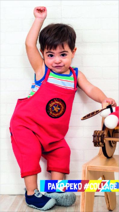 jardinero-algodon-corto-bebes-Pako-peko-verano-2020