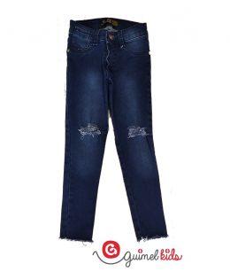 jeans-con-roturas-para-niña-Guimel-verano-2020