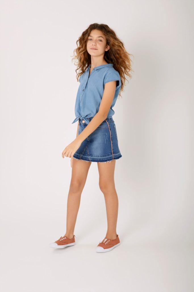 mini-jeans-niña-niñas-teens-Rapsodia-Girls-verano-2020