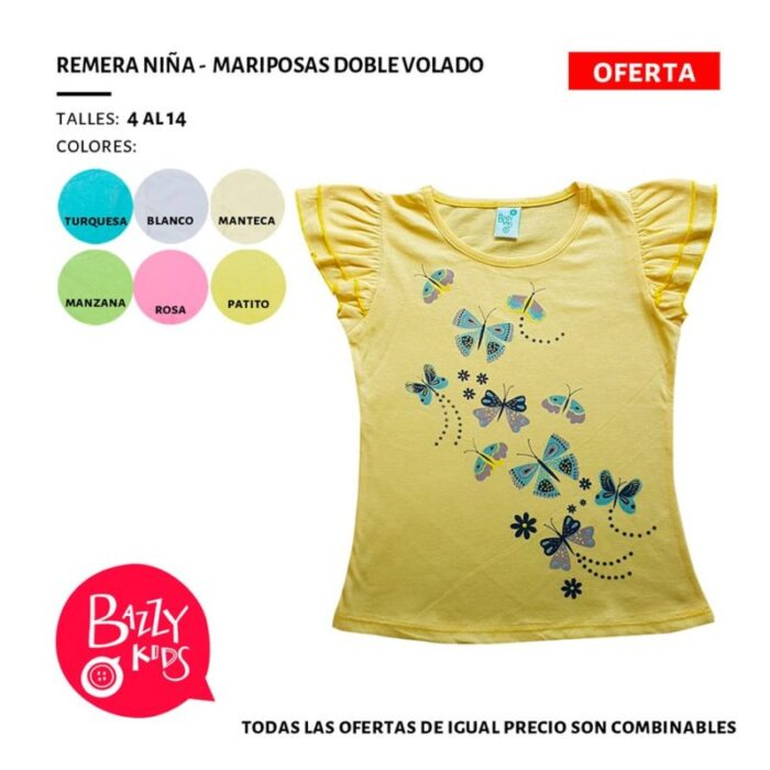 remera-mariposa-niñas-Bazzy-verano-2020